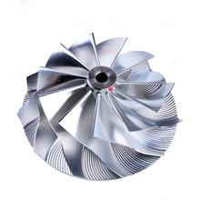 Kinugawa турбо заготовка компрессора колеса 48,5/61 мм 11+ 0 для KKK K03 K04