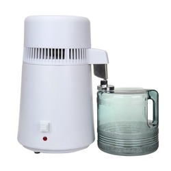 (Envío de la UE) 4L destilador de agua pura máquina de filtro purificador de filtración Hospital casa Oficina cocina Wasser Destillie
