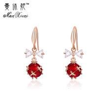 цены на Fashion statement earrings 2018 ball Geometric earrings For Women Hanging Dangle Earrings Drop lantern Earing modern Jewelry  в интернет-магазинах
