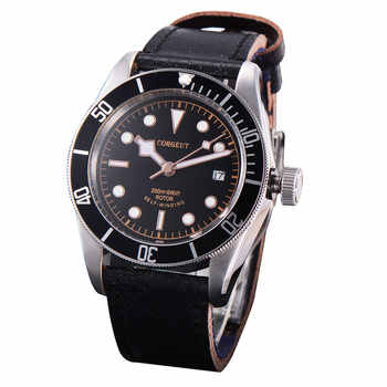41mm Corgeut Black dial black/red bezel Sapphire Glass Luminous mechanical Automatic Mens Watch - DISCOUNT ITEM  30% OFF All Category