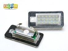 Одна пара LED Фонарь Освещения Номерного Знака для Audi A3.S3 04-09 номерной знак лампа Супер Яркий СВЕТОДИОДНЫЙ DC12V 030804 GGG FREESHIPPING