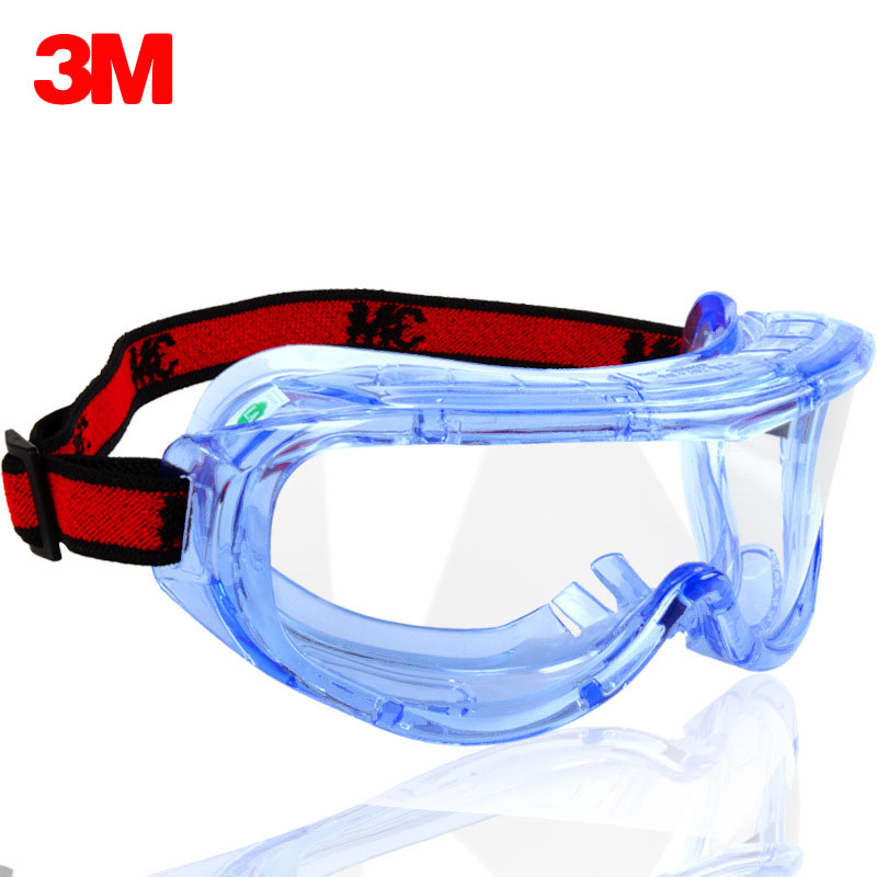 3M 1623AF Safety Goggles Anti-Impact And Anti Chemical Splash Glasses Goggle Laboratory Labor Eye Protection Riding Anti-sand
