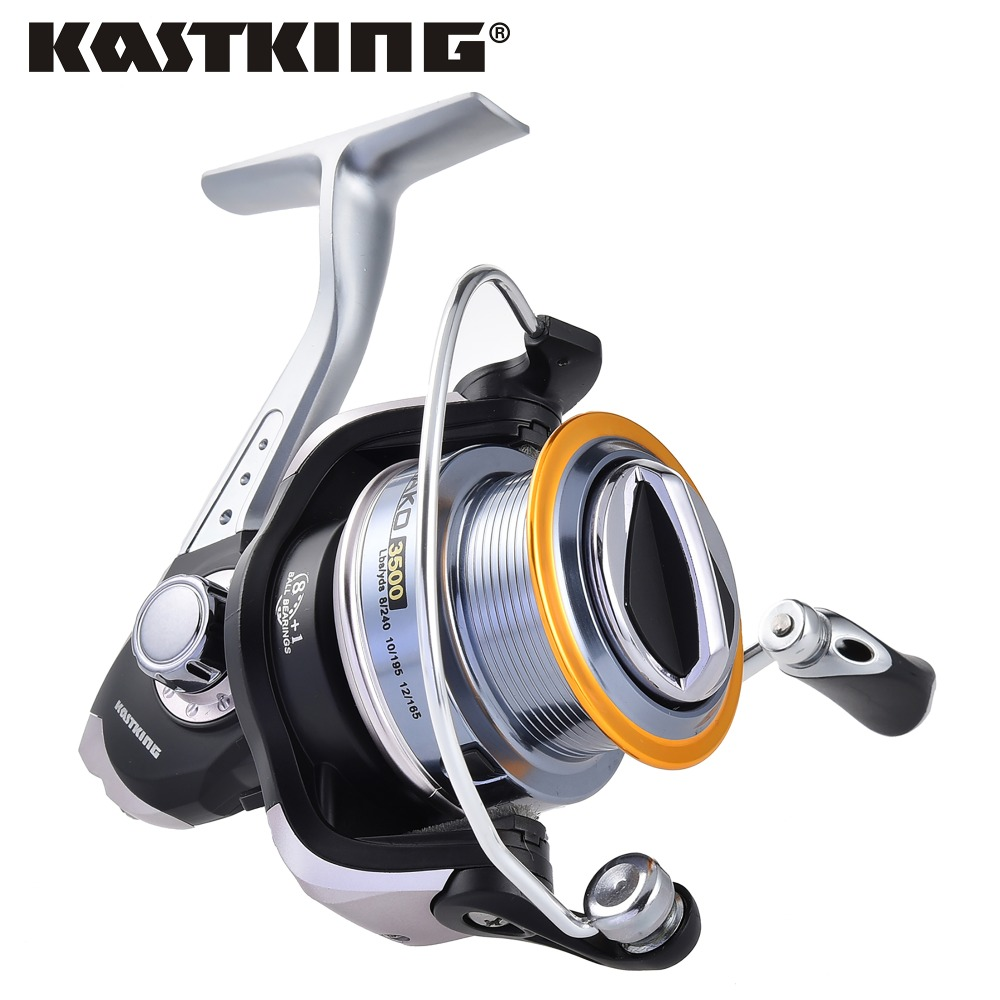 Prix pour KastKing 2016 MAKO Rouet de Bobine 10 KG Multi-disque Glisser Métal Bobine Poignée Grand Spool Pêche À La Carpe Bobine