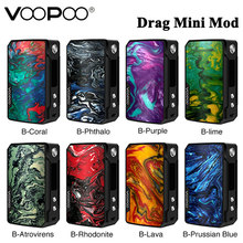 Original VOOPOO Drag Mini 117W MOD with 4400mah Built-in Battery Electronic Cigarette Vape Vaporizer support Uforce T2 Tank(China)