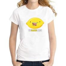 The Gaming Lemon Logo T Shirt Femme Short Sleeve O-Neck Cotton Tops Women Off White Novelty anime T-Shirts Tee