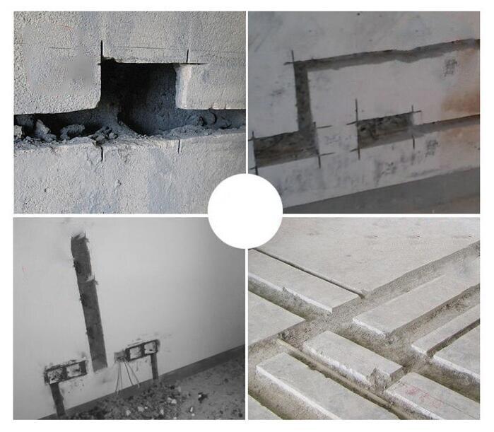 Elektryczna maszyna do cięcia ścian frezarka do rowków dłutownica 9000 obr/min 125 MM 220 V