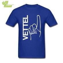 Sebastian Vettel T Shirt Mens Men's Pre-