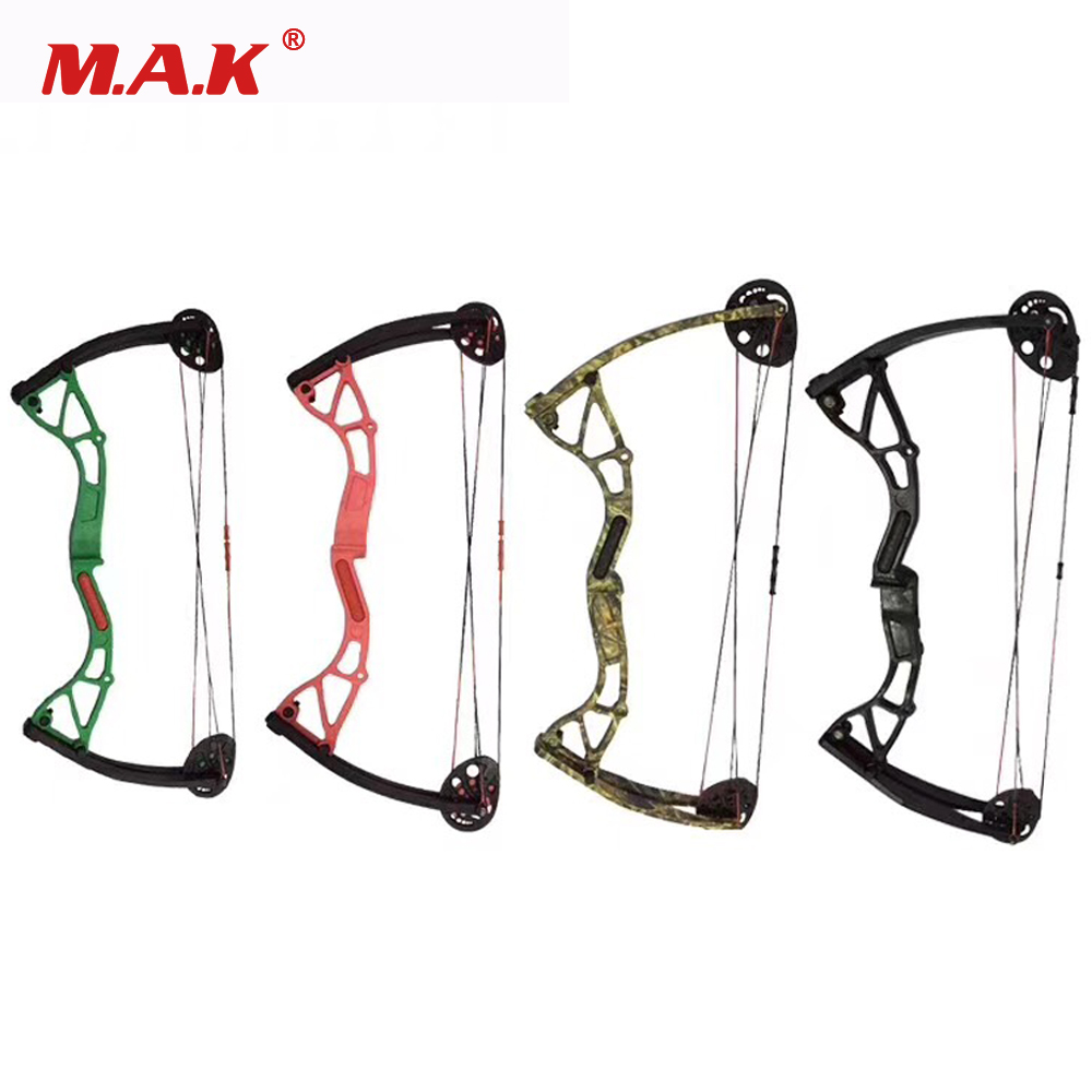 Junxing Bow 10 20 lbs Children Compound Bow Draw Length 17 26 Inches Children Gift for Archery Shooting Hunting