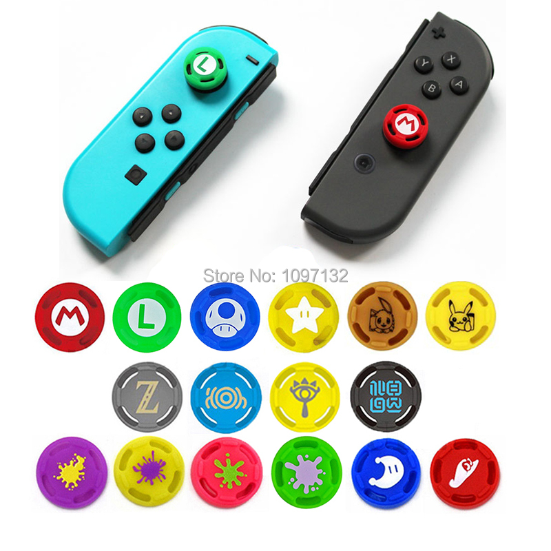 400 pcs Silicone Grips for Nintend Switch NS JoyCon Controller Joystick Cover for Joy Con Analog