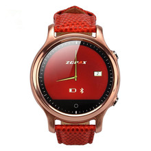 High quality S360 Bluetooth Smart Watch Wristwatch Round Wrist font b Smartwatch b font Phone Mate