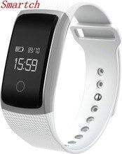 Новые Сенсорный экран A09 Смарт-часы браслет кровяного давления монитор сердечного ритма шагомер фитнес Смарт Браслет PK CK11 F1