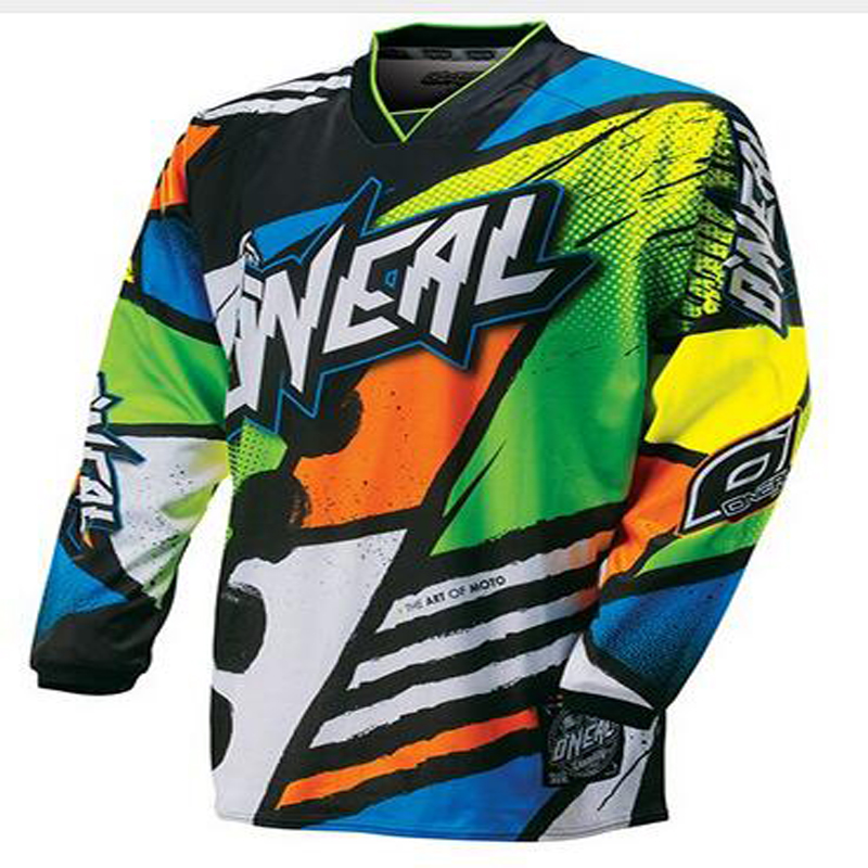 2017 Quick dry 2017 New high quality Fast Dry Jersey bike MTB bicycle shirt DH MX all bike Latest design new new shirt free shi