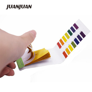 20 sets/lot Household PH Meters Indicator Paper PH Value 1-14 Litmus Testing Paper Tester 80 Strips/set 39%off