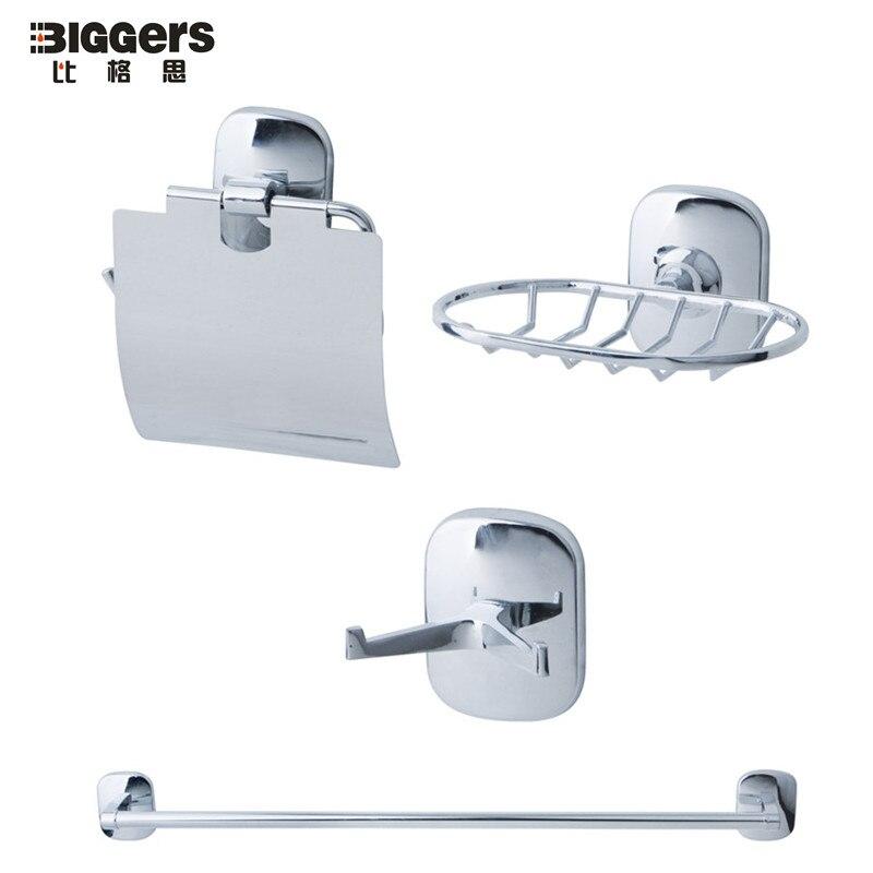 Accessori Bagno Classici Cromati.Free Trasporto Design Classico 4 Pz Set Accessori Per Il Bagno Di