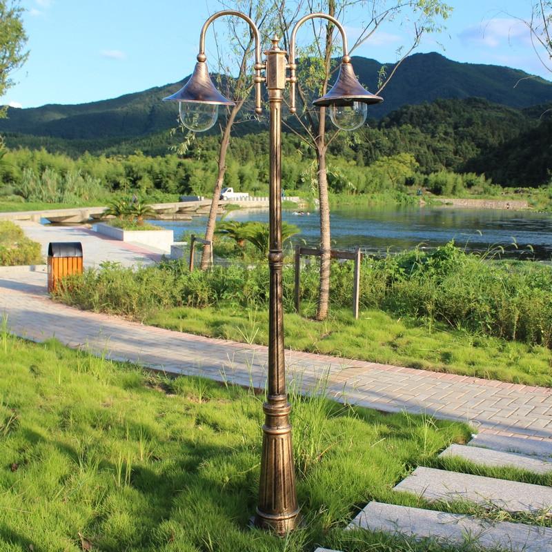Free Shipping High Pole Street Light Outdoor Garden Lights