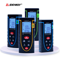 Digital Laser Distance Meter 40m 60M 80M 100M SW M40 SNDWAY Laser Rangefinder Bubble Level Range