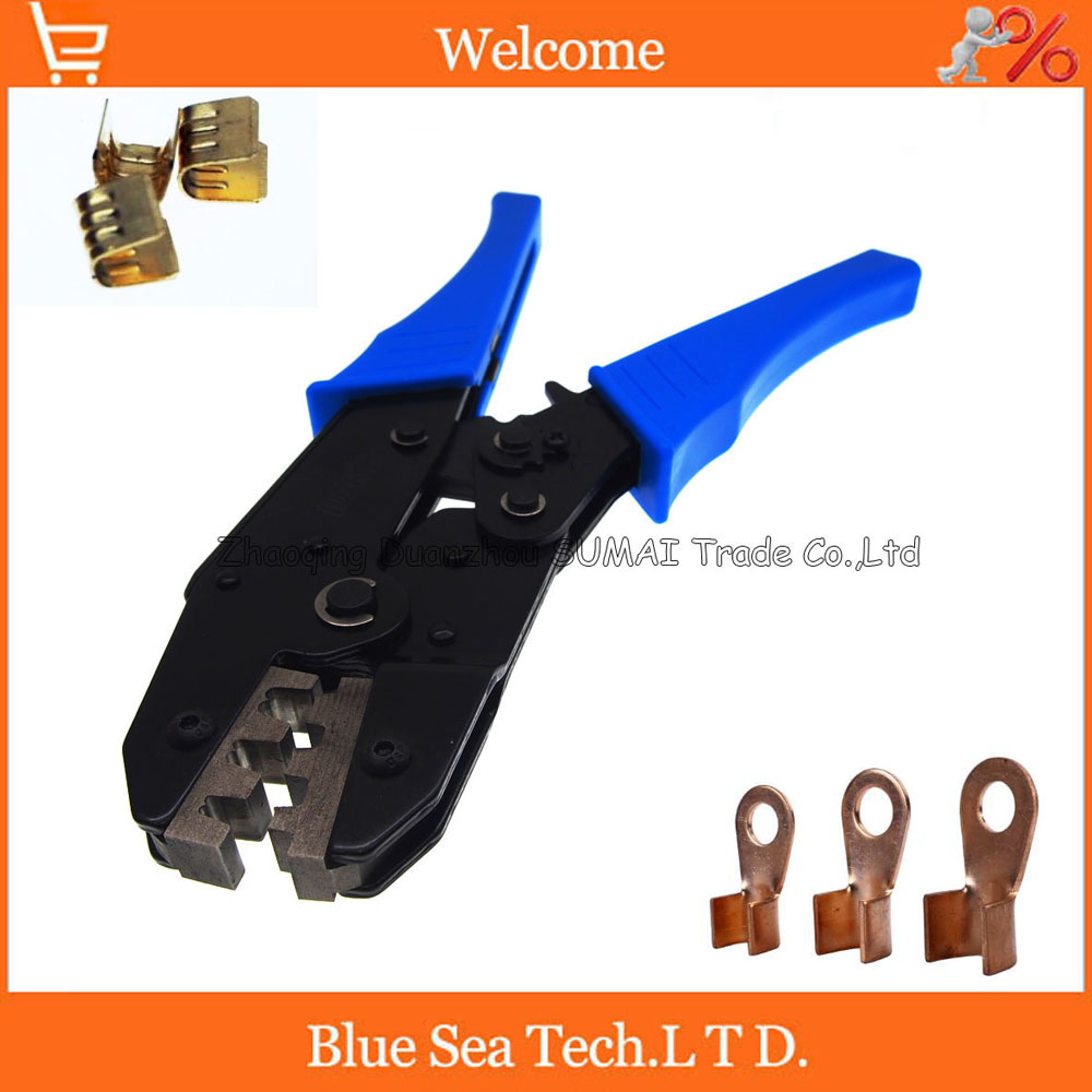 Crimping Tools,copper Joint terminal crimping wire/cable for 20-10 AWG ,0.5-6mm2 for 454A /454B /454C and 5A to 20A terminals terminal wire crimping tools for deutsch terminals connector crimping wire cable for 20 12 awg 0 5 1 5mm2