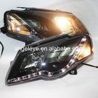 For Volkswagen Magotan Passat B6 headlights LED Head Lamp 2004 2010 year SN