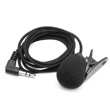 OOTDTY Universal 3.5mm Hands-free Clipe de Lapela Sem Fio Microfone Para Laptop Notebook PC