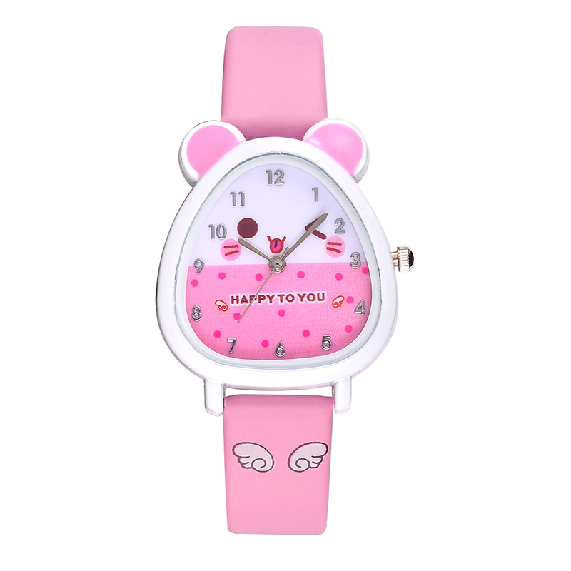 Childrens Watches Kids Quartz Analog Leather Wristwatches Cartoon Child Watch Birthday Gifts For Girls Boys Kids Clock Kol Saat