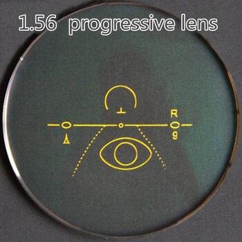 1.56 1.61 1.67 1.74 indeks soczewki progresywne wielu dwuogniskowe soczewki okulary krótki korytarz dla osób patrz w pobliżu i odległość