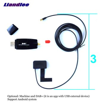 Liandlee Android Car Stereos Real-time For Apple iOS USB DAB+ Radio Android Auto GPS Navi Navigation System