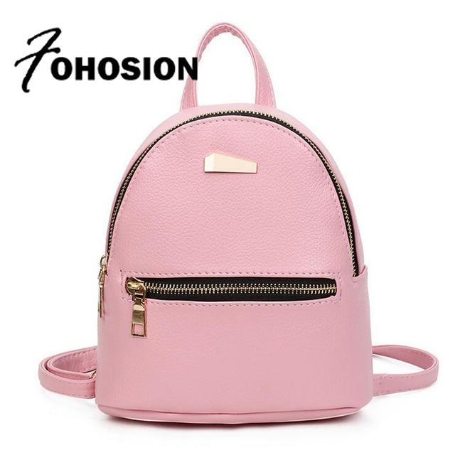 4e68774109a9 Модный мини-рюкзак для девочек-подростков, школьные сумки высокого  качества, женский кожаный