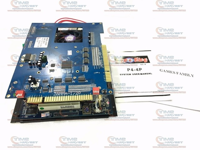 2 sztuk 2019 w 1 plansza 2.4G CPU 40G używane HDD P4 płyta główna JAMMA plansza do wielu gier na automat do gry CGA i LCD szafka