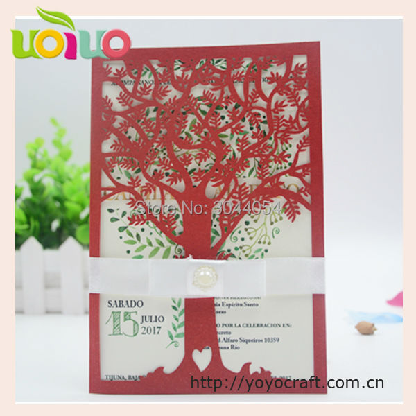 Alibaba china supplier uk hot sale unique metallic blue tree design alibaba china supplier uk hot sale unique metallic blue tree design royal happy wedding invitation card 2015 in cards invitations from home garden on m4hsunfo