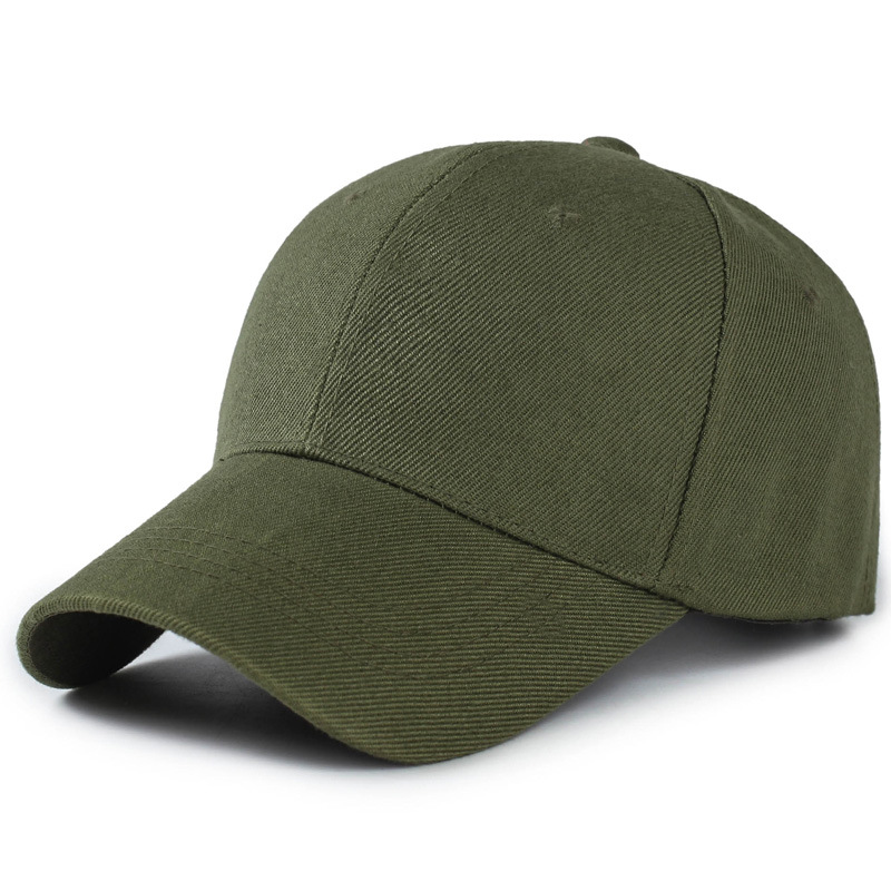 Hat men's solid color breathable baseball cap Korean casual wild baseball cap