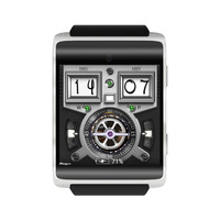Cawono 16GB Quad Core CA18 4G Android Smart Watch Phone WIFI GPS Smartphone FDD Lte WCDMA Camera Heart Rate Monitor IPS Screen