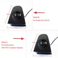 CCD car front logo camera for Honda Accord CRV Odyssey XR-V