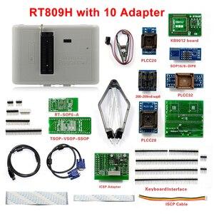 Image 4 - 100% oryginalny programator RT809H emmc nand niezwykle szybki uniwersalny programator + 35 przedmiotów + kabel Edid + ssanie pióra