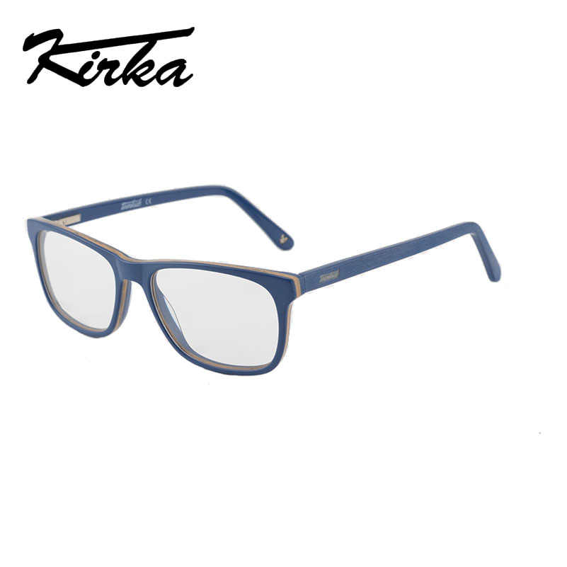 Kirka Optical Glasses Frame for Kids Safe Glasses Frame Eyewear Frames Children Myopia Glasses Clear Lens Boys&Girls Acetate