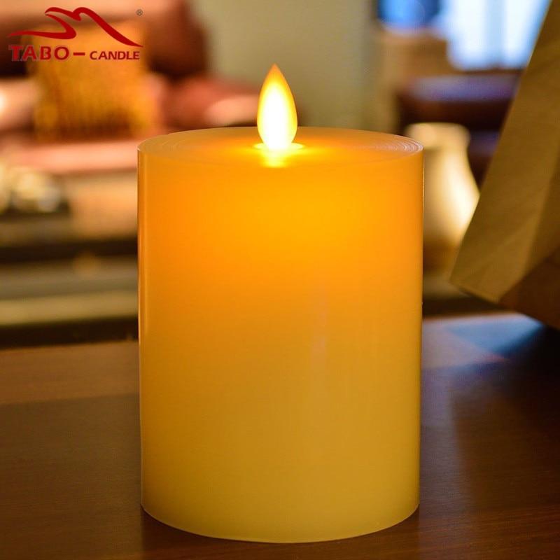 luminara scents candles led dancing flameless wax pillar candles for christmas giftschina