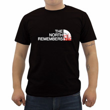 The North Remembers Game Of Thrones T Shirt Summer Fashion Men s Short Sleeve O neck