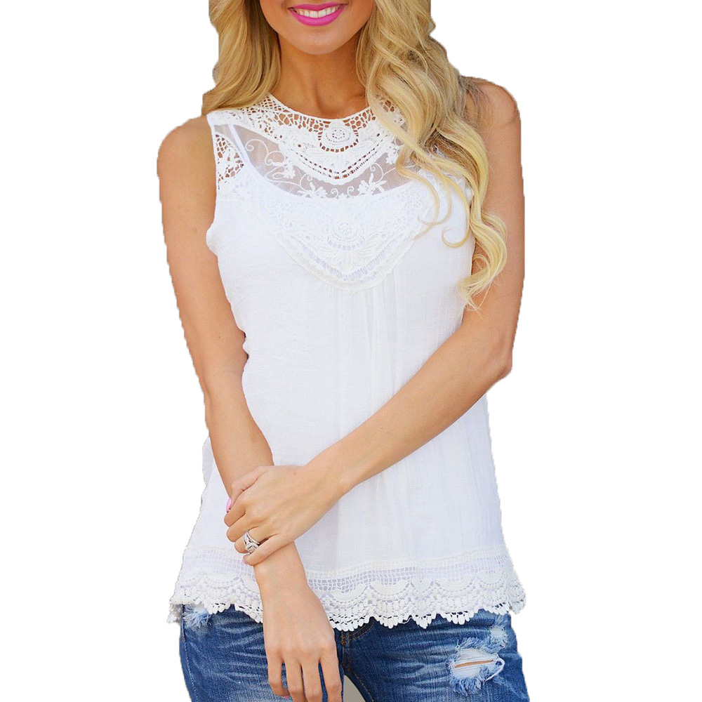 Fashion women lace blouses o neck shirts solid color slim for Types of womens shirts