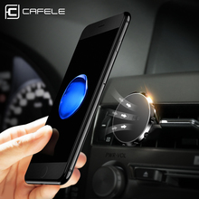 ФОТО cafele car phone holder magnetic air mount stand universal for iphone 7 6 6s plus samsung s8 huawei xiaomi gps phone car holder