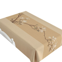 Chinese style new mahogany furniture matching tablecloths cotton linen cloth tablecloth Magnolia