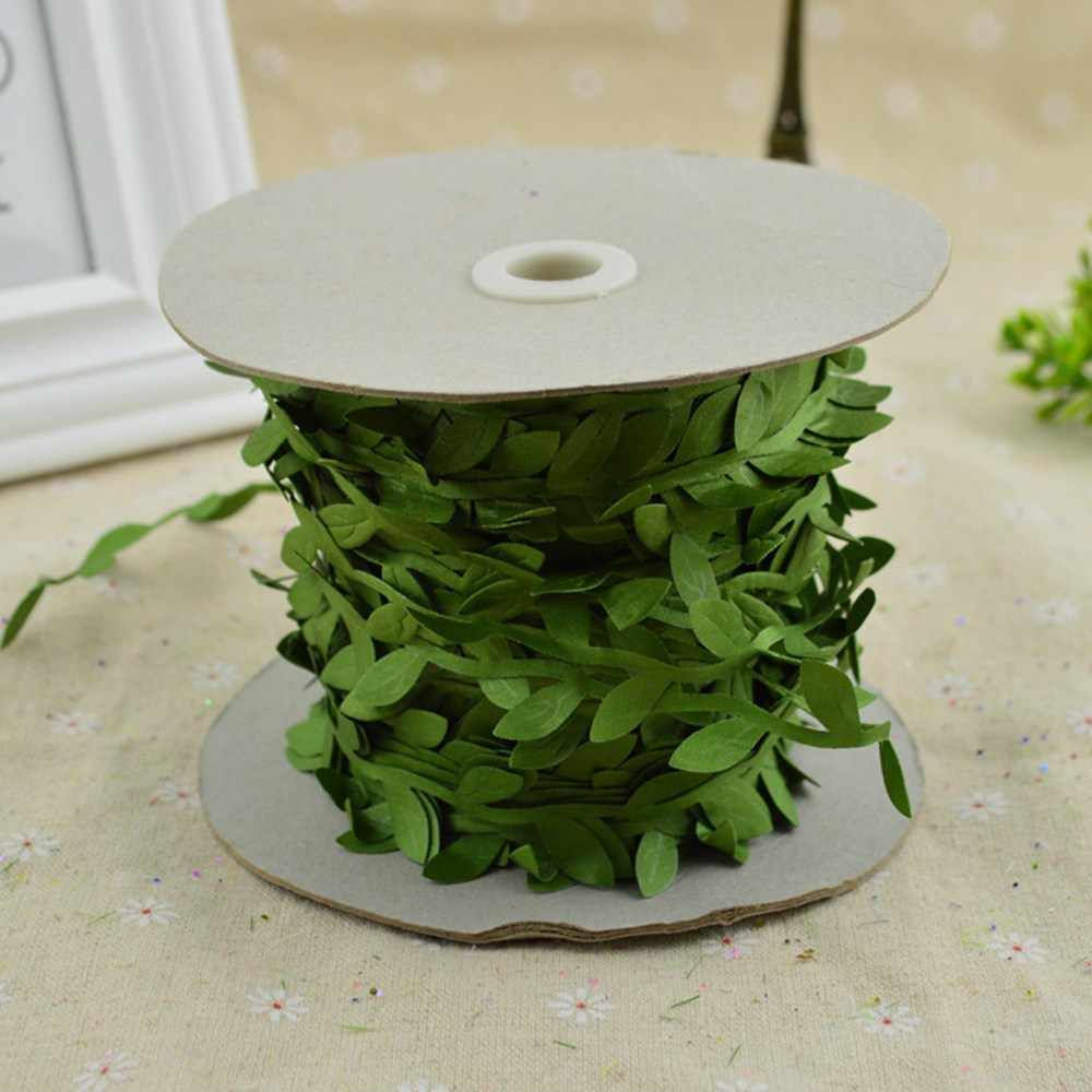 200cm/lot cheap Artificial flowers vine christmas for home wedding car decor accessories fake plants Leaf vine diy wreath gifts