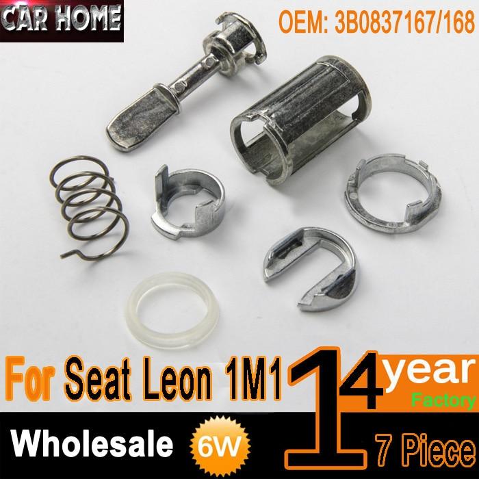 SEAT Leon Arosa Toledo Verrou de porte cylindre kit réparation avant gauche ou droite