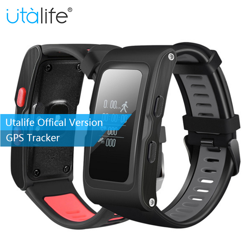 U28 Smart Bracelet Independent GPS trajectory with Pressure Height Fitness Activity Tracker Heart rate monitor Smart band