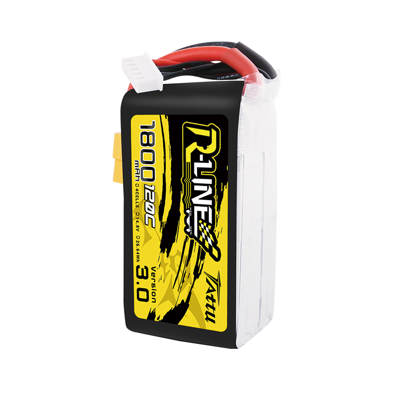 Image 4 - New Tattu R line 120C V3 1300/1550/1800/2000mAh 120C 4S 14.8V Lipo Battery with XT60 Plug for FPV Racing Drone RC Quadcopter-in Parts & Accessories from Toys & Hobbies