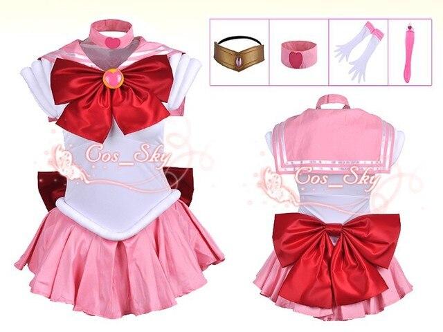 Kids size-- New Sailor Moon SM Sailor Chibi Moon Chibius Dress Cosplay Costume u0026  sc 1 st  AliExpress.com & Kids size New Sailor Moon SM Sailor Chibi Moon Chibius Dress Cosplay ...