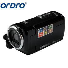 ORDRO DDV-107 HD Camera 720P CMOS 1 3 Mega Video Recorder 16X Digital DV Video Camera Camcorder Automatic Digital tanie tanio Mini 720P (HD) DV-107 W Karta SD DYSK twardy pamięć Flash 2 -3 CMOS 1 3 mega pikseli Max 16 0 mega pikseli Format pliku AVI 720P VGA (640x480) QVGA (320x240)