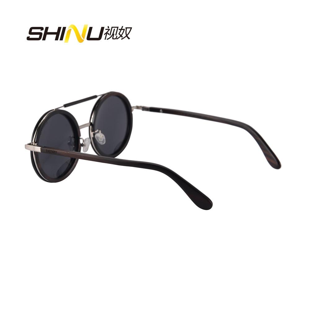 Oculos Schutz Sommer Polarisierte Gläser Feminino Sol Sonnenbrille Grey Frauen Runde De Holz Brillen Uv400 Driving Retro Vintage wxX0O68nq