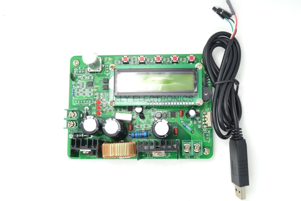 цена на ZXY6005S New DC 300W Digital Controlled Programmable Regulated Power Supply Module W/USB Cable