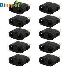 Binmer Mecall 10 шт. США/Австралия в ЕС Путешествия конвертер AC мощность Plug мощность зарядное устройство адаптер