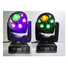 2pcs/lot Led Moving Head Light 30W LED Spot 6*12W Wash Stage Light DJ Disco Party Lights with 7 Colors 7 Gobos Lasers spot light(China)