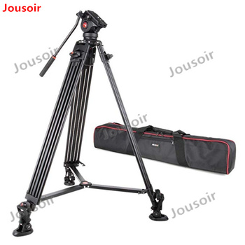 Viltrox VX-18M 1.88m Aluminum Professional Heavy Duty Video Camcorder Tripod with Fluid Head + Carry Bag for Camera DV CD50